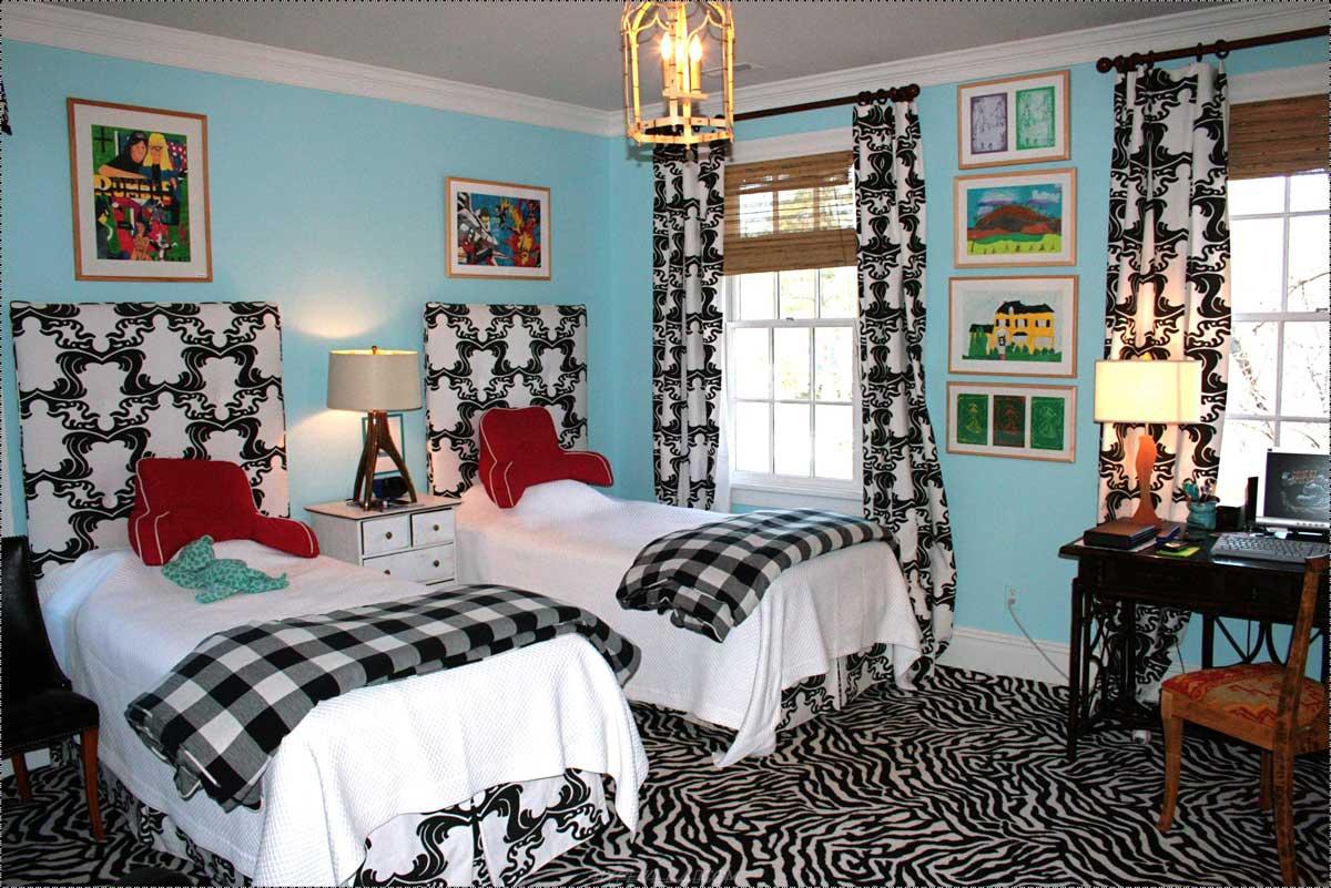 Декоративность дизайна в комнате для девочек ставиться на первое место