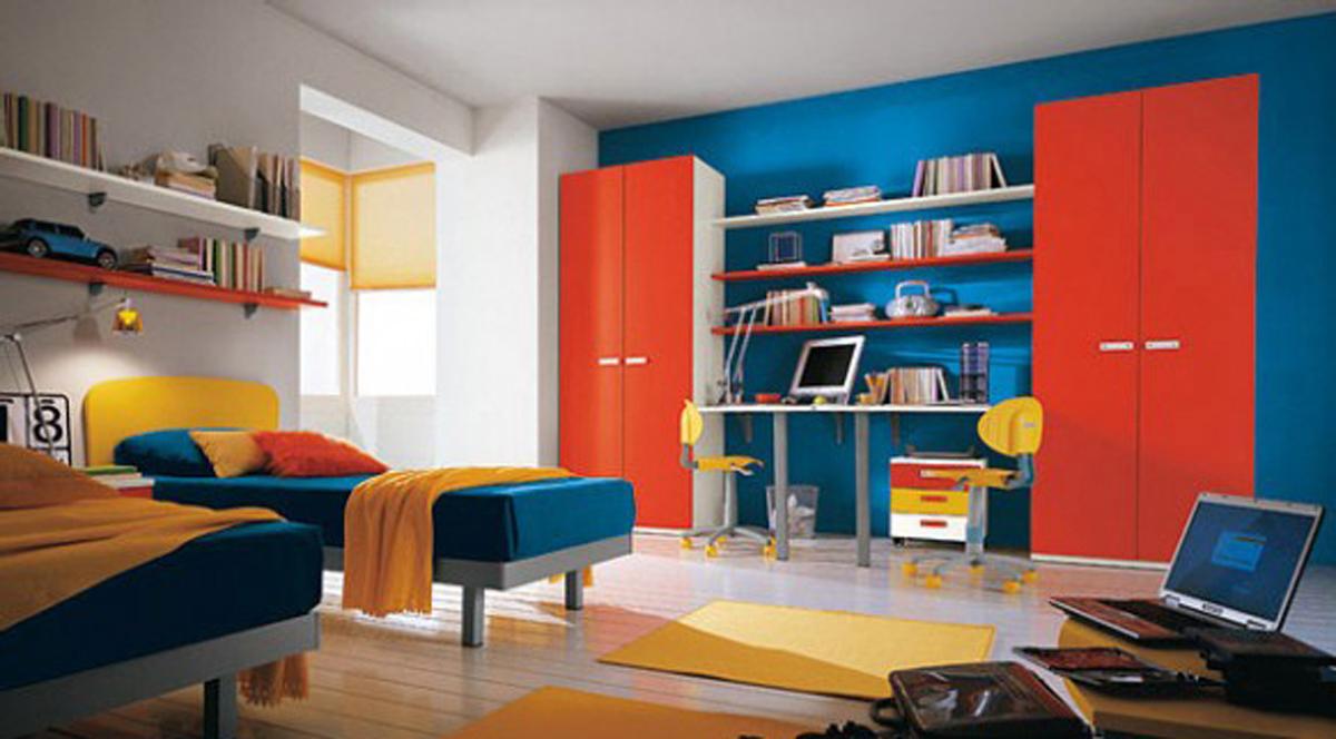 Пример комнаты для детей в современном стиле