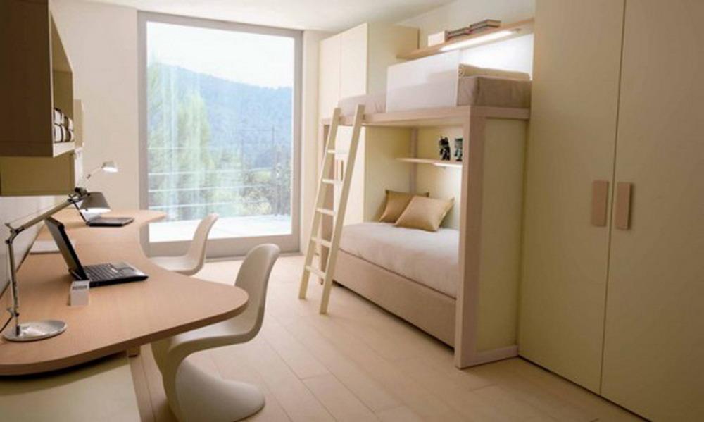 Дизайн маленькой спальни для двоих взрослых