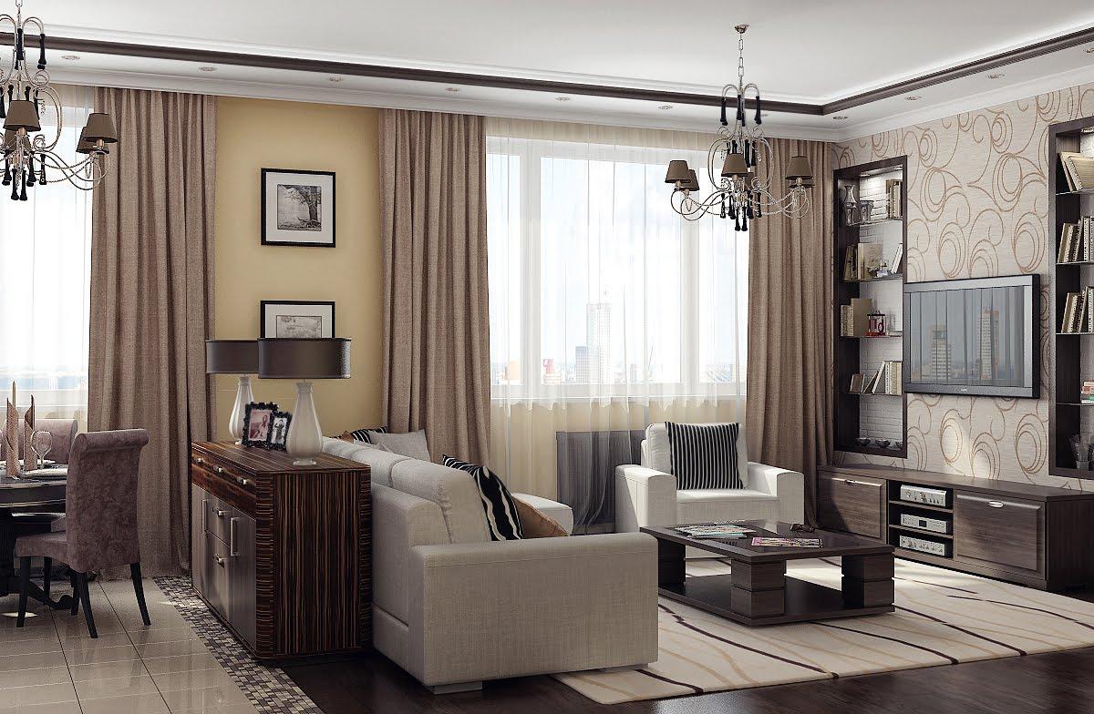Зал — главное помещение в любом доме