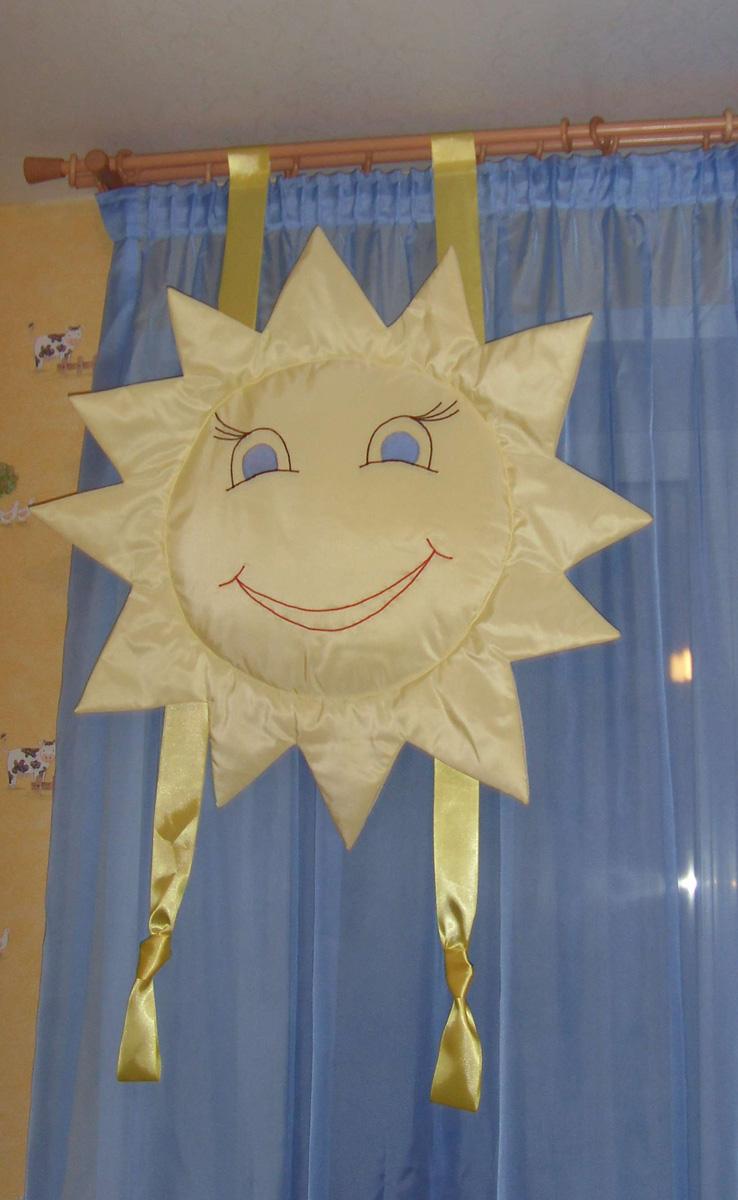 Как сшить шторы в детский сад 287