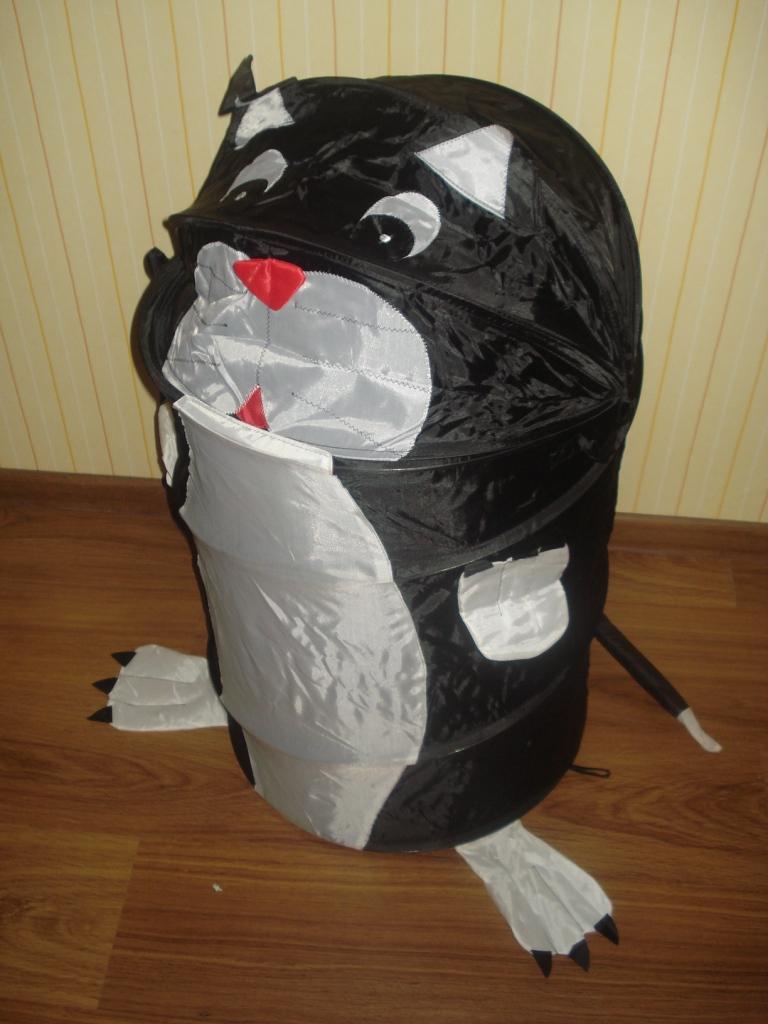 Как сделать мусорку своими руками в комнату