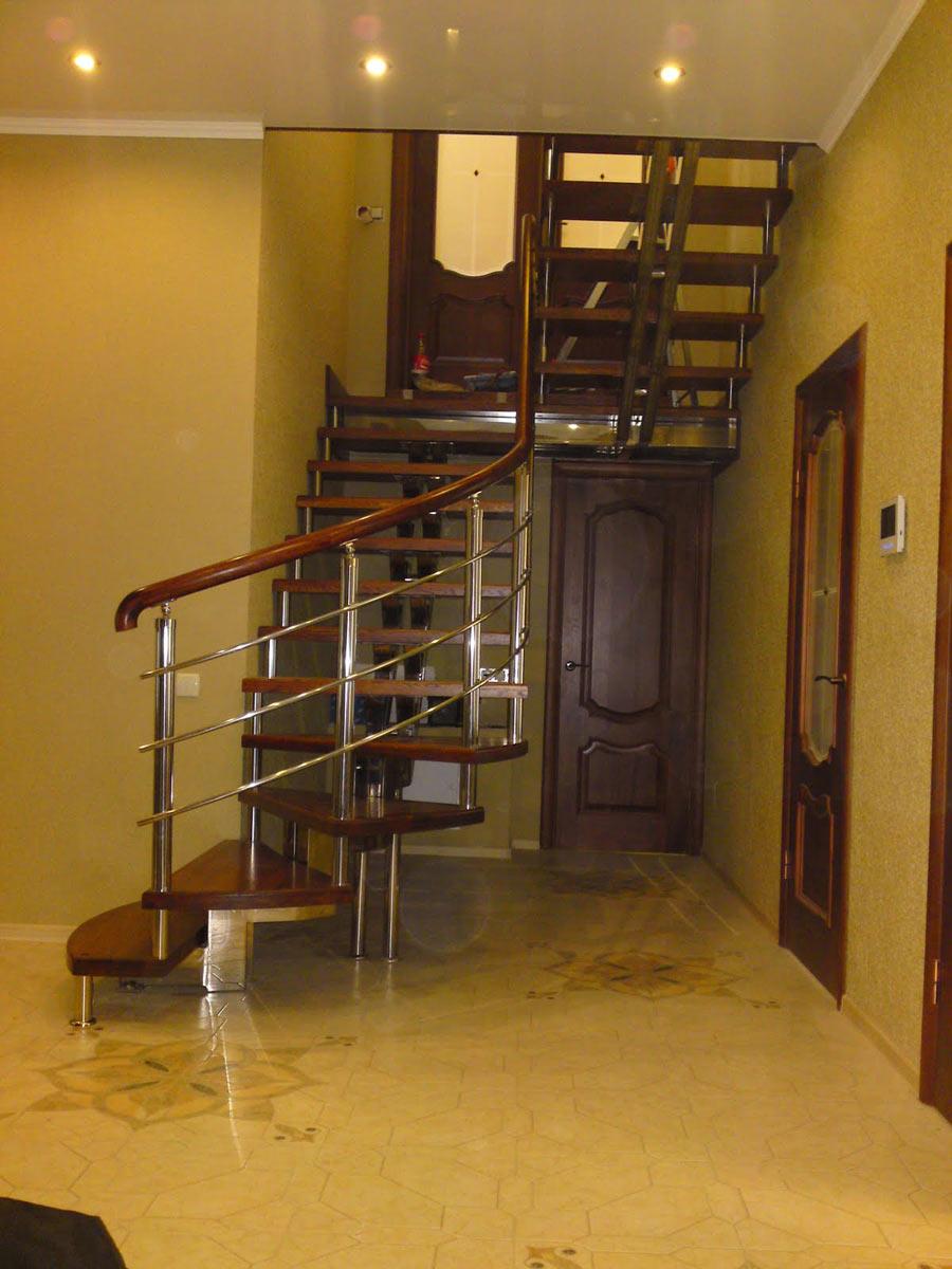 Пример многомаршевой лестницы