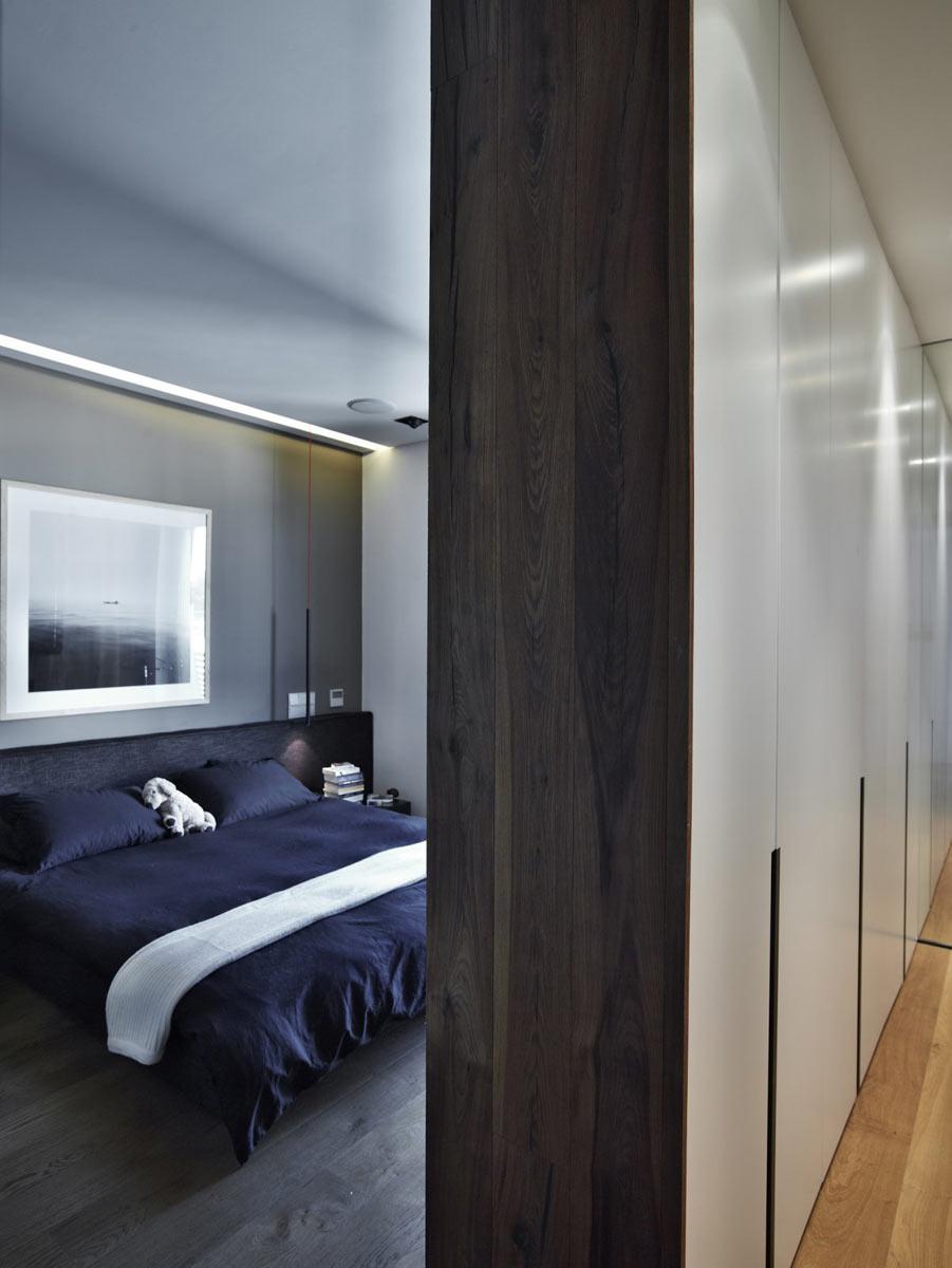 Спальня должна быть наиболее недоступной комнатой, хорошо укрытой от посторонних глаз
