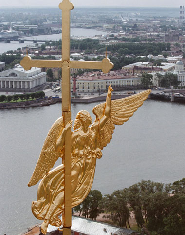 Флюгер Петропавловского собора