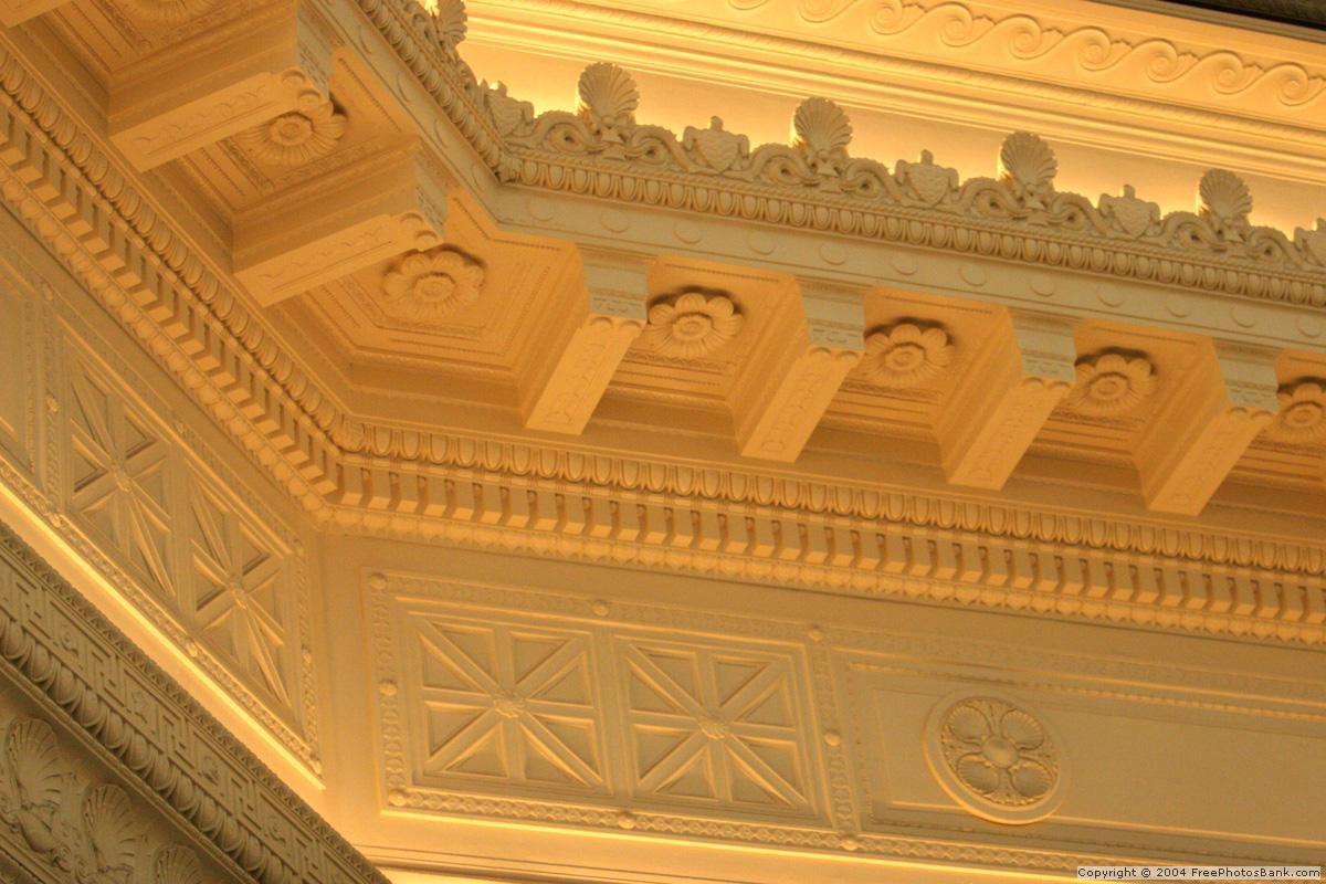 Потолок в классическом стиле – это целое произведение искусства