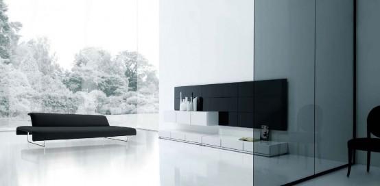 Пример светильника в стиле минимализм для декоративного освещения гостиной