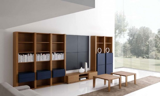 Для хранения вещей используйте в гостиной негромоздкую мебель