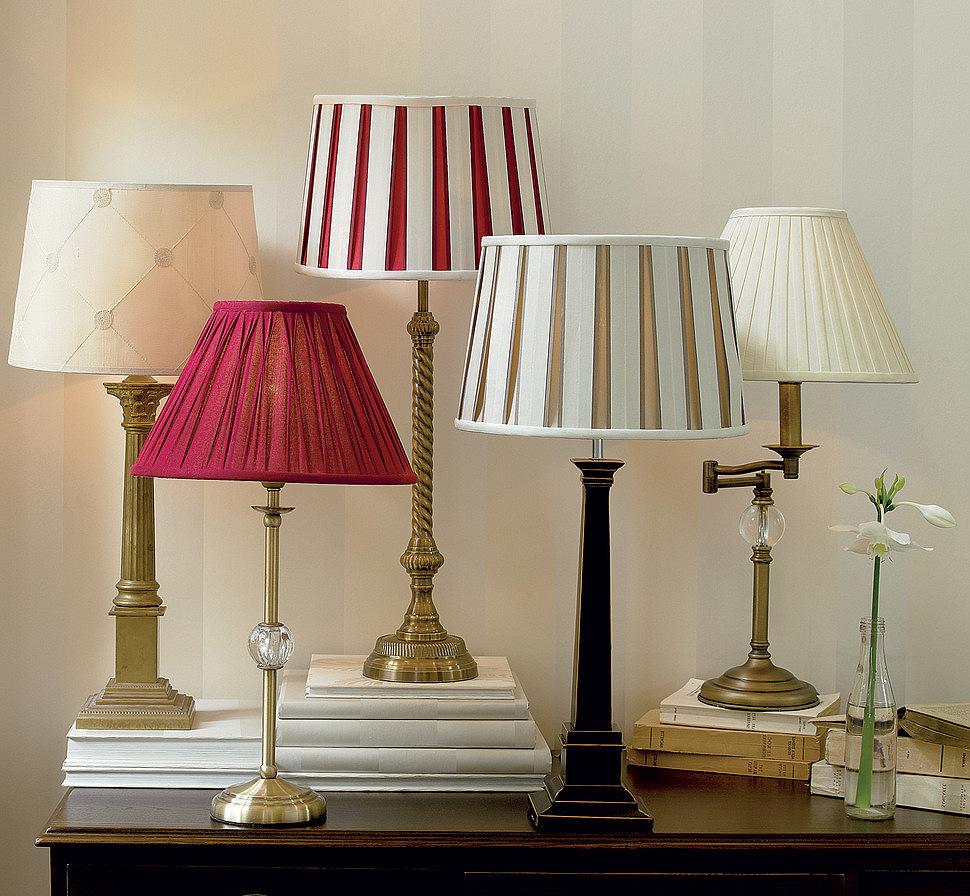 Пример светильников, которые можно использовать в гостиной прованс