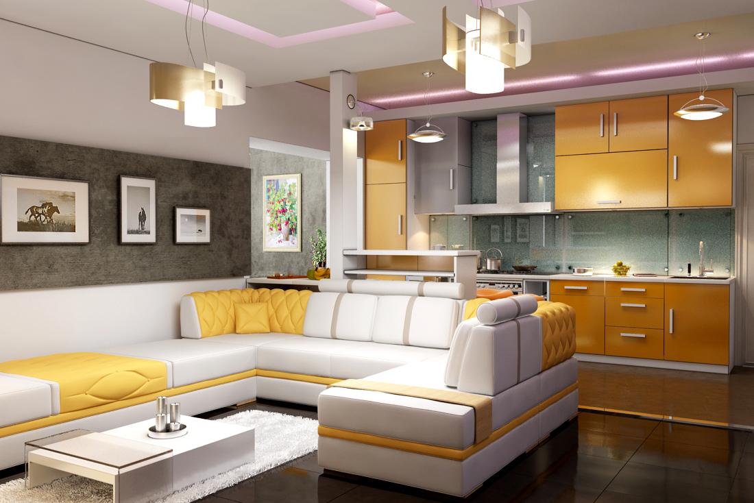 Кухня гостиная дизайн картинки