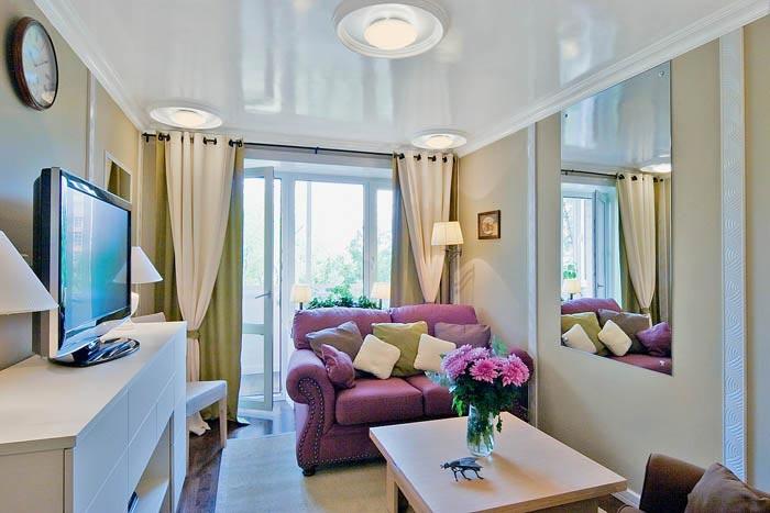 дизайн мебель для однокомнатной квартиры хрущевка фото #10