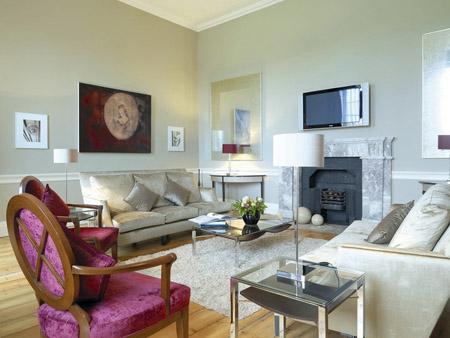 Хай-тек и роскошь в интерьере квартиры