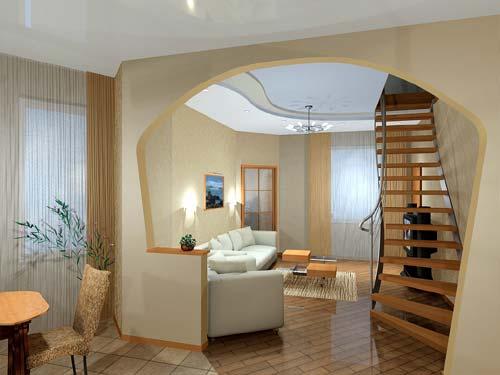 Роскошный и богатый интерьер квартиры