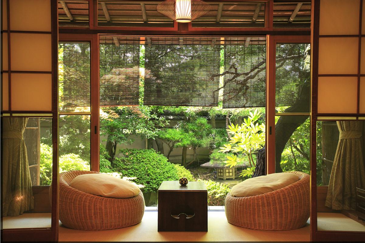 Дизайн окна в японском стиле