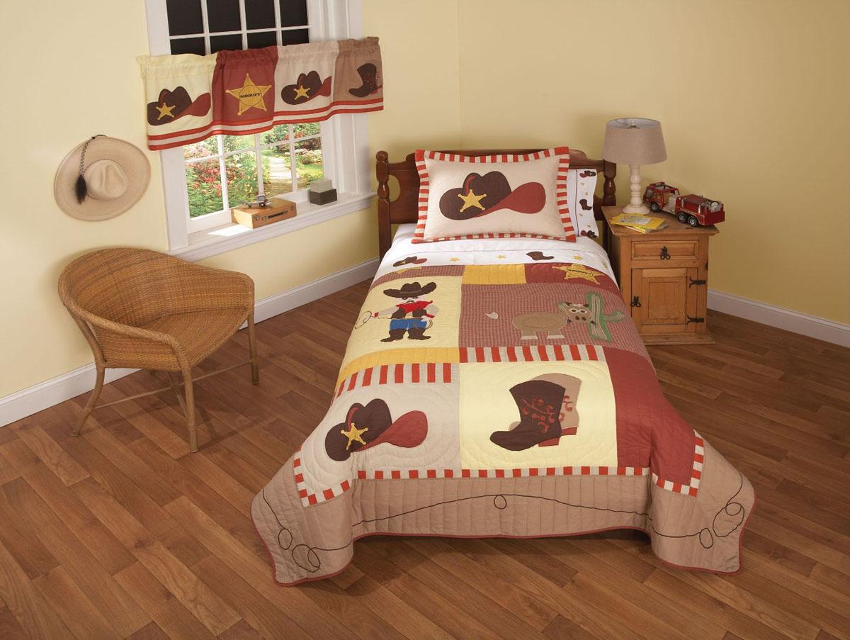 Детская комната для мальчика в ковбойском стиле