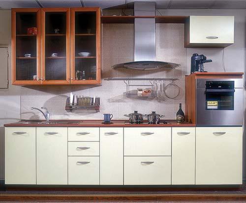 Фасад кухни в стиле модерн под эмалью