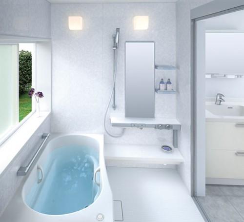 Чем больше света в ванной, тем просторнее она кажется