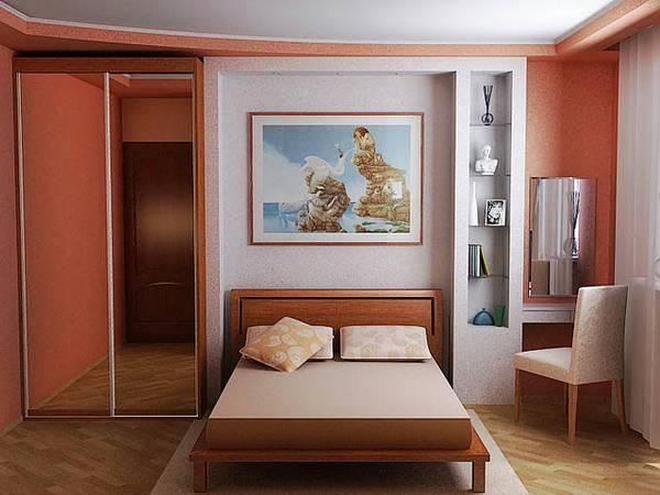 Спальни в малогабаритной квартире