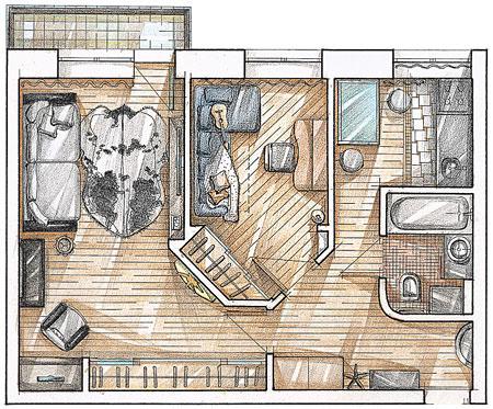 Квартира меняем дизайн интерьера