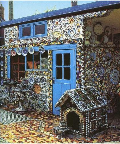 Мозаика на стенах своими руками