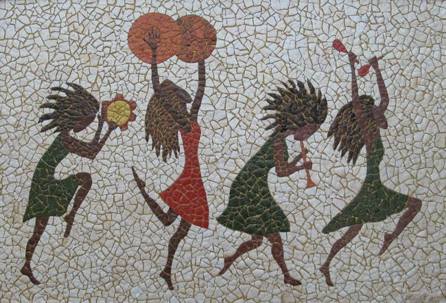 Мозаика может быть динамичной