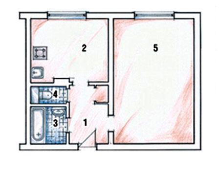 План квартиры дизайн проект