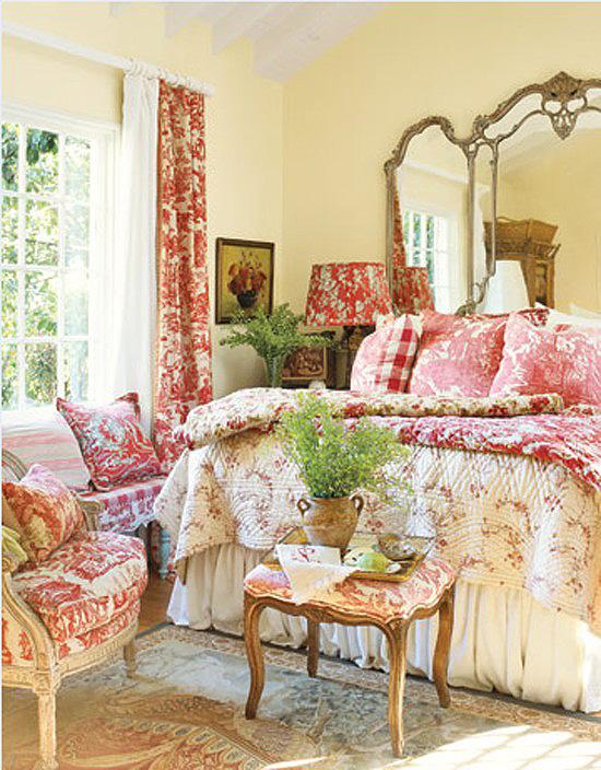 Спальня в стиле прованс - райский уголок в вашем доме.