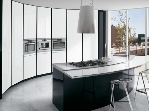 Правильное сочетание света и пространства - главная задача кухни в стиле минимализм