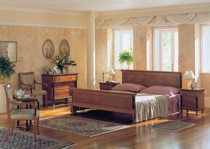 Оформление интерьера спальни в стиле