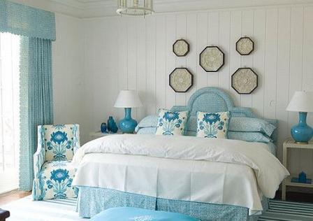 Пример оформления интерьера спальни в стиле винтаж