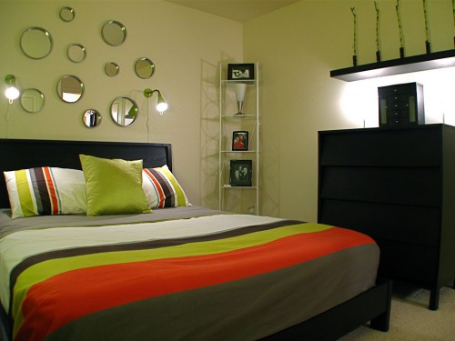 Вариант дизайна спальни в стиле модерн