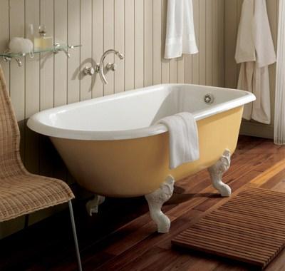 Данный тип - экономичное решения для ванной комнаты и потому популярен...