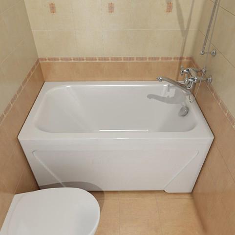 Ванная комната в хрущевке Советы.