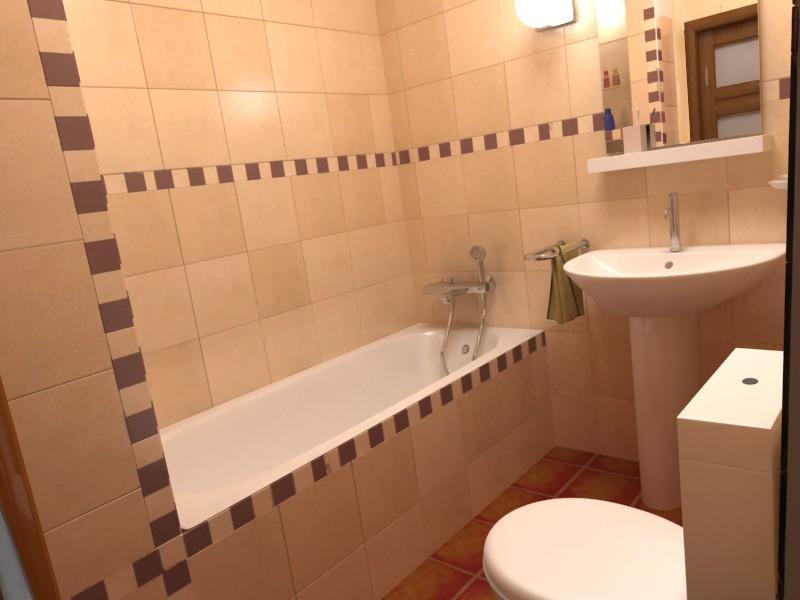 Отделка ванной в серо-белых тонах при плохом освещении — плохое дизайнерское решение
