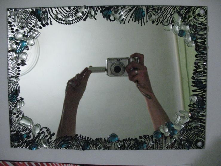 Украшения для зеркала своими руками