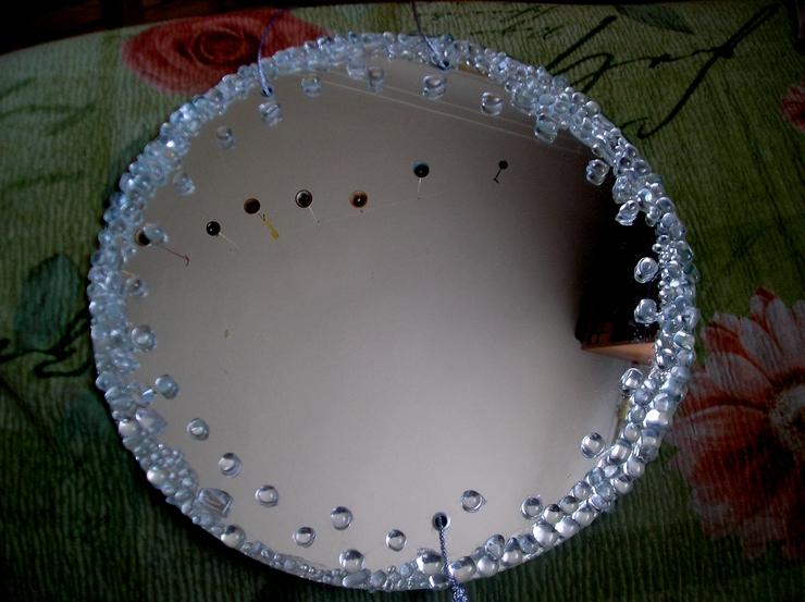 Декорирование зеркала фото
