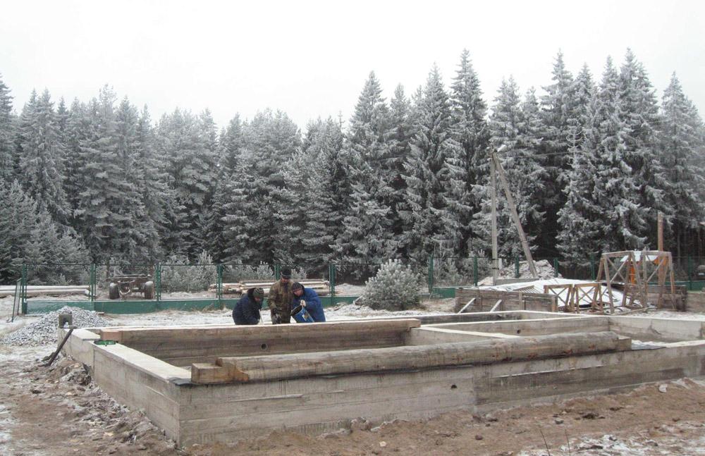 Виконання бетонних робіт зимою