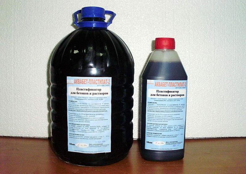 Как сделать пластификатор для раствора