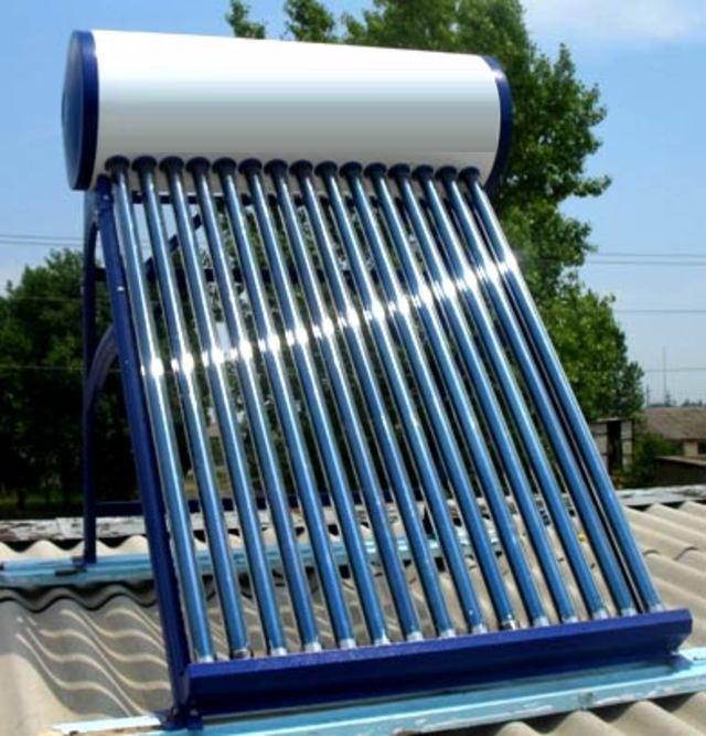 Использование солнечного нагревателя позволяет сэкономить расход энергии
