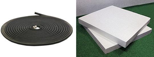 Основні матеріали для сонячного колектора з гумового шланга