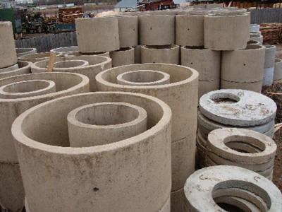 Железобетонные изделия для колодцев канализации