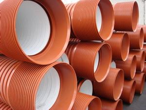 Пластиковые гофрированные трубы для канализации