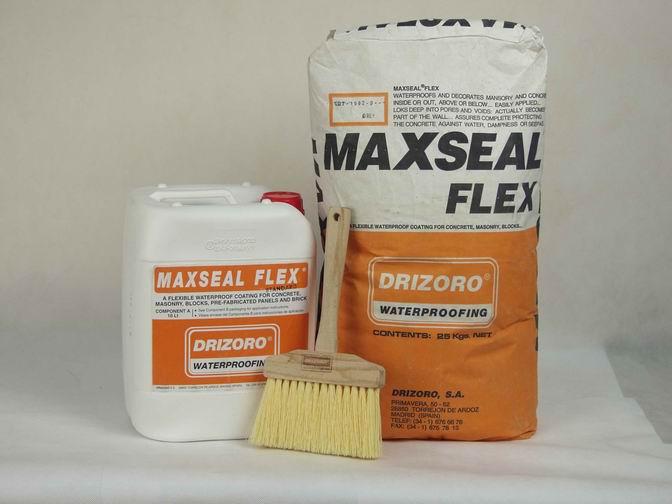 Применение добавок к бетону - Добавка Maxseal