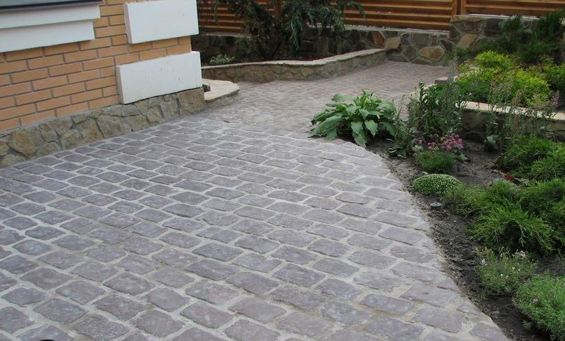 Искусственный камень успешно применяется в ландшафтном дизайне