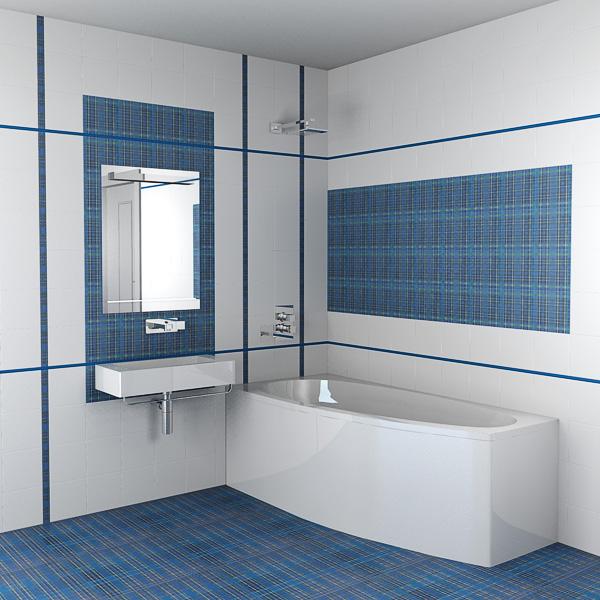 Современная ванная комната – кафель в роли основного декораторского материала