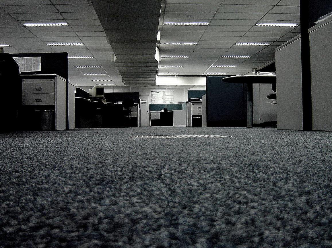 Ковролин сегодня очень часто используют в офисах