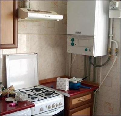 Двухконтурный газовый котел автономного отопления