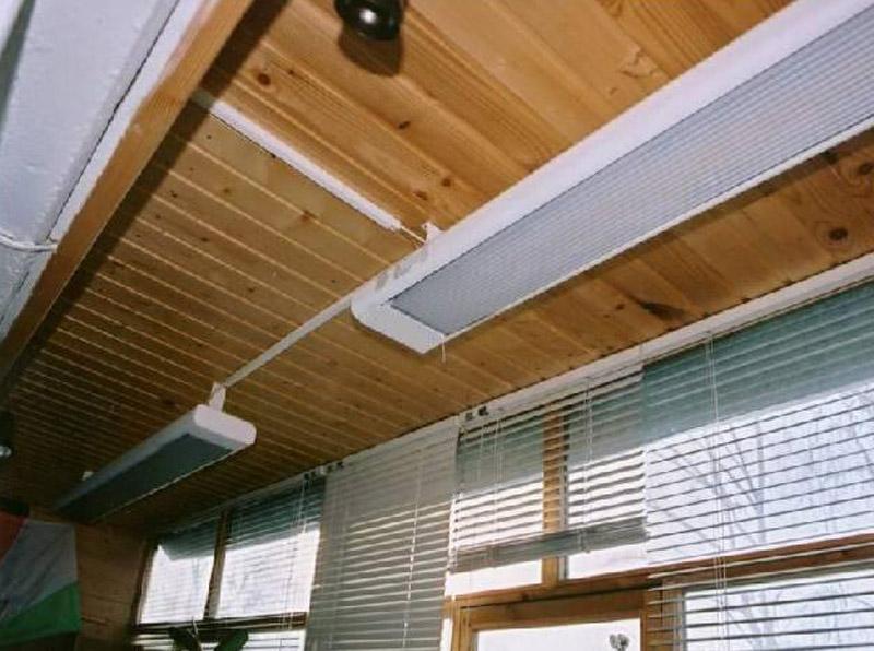 Отопление балкона ibud.ua.