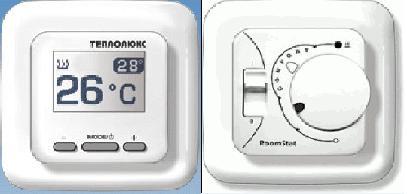 Терморегулятори для теплої підлоги