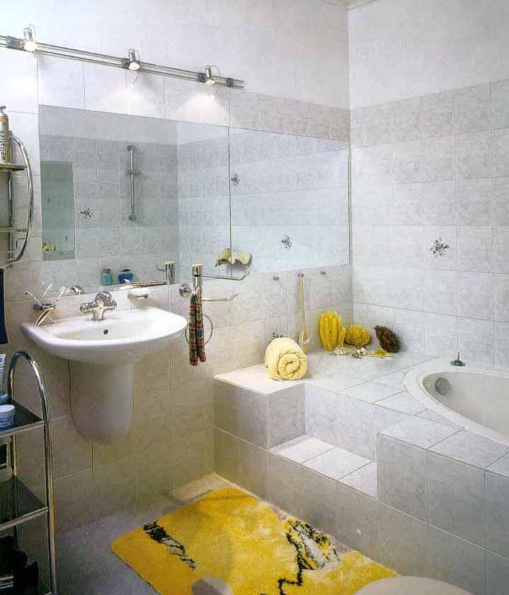 Дизайн ванной комнаты — ванна со